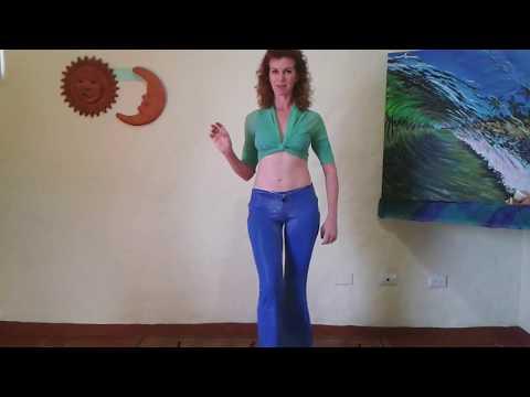 КAK Учить Танец Живота. ХОДЬБА С ТРЯСКОЙ В Разных Вариантах.