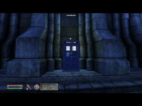 A working TARDIS for The Elder Scrolls IV