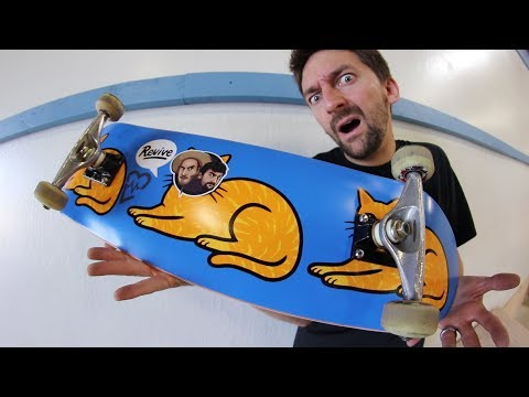 SKATING A REGULAR SKATEBOARD! | SKATE EVERYTHING EP 72