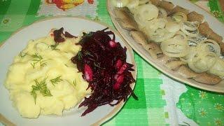 Часть 3-вкусный и очень полезный салат из свеклы