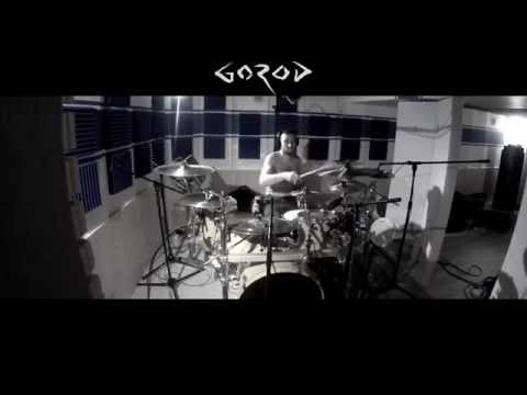 GOROD  - Recording Studio Session (#1  Drums)