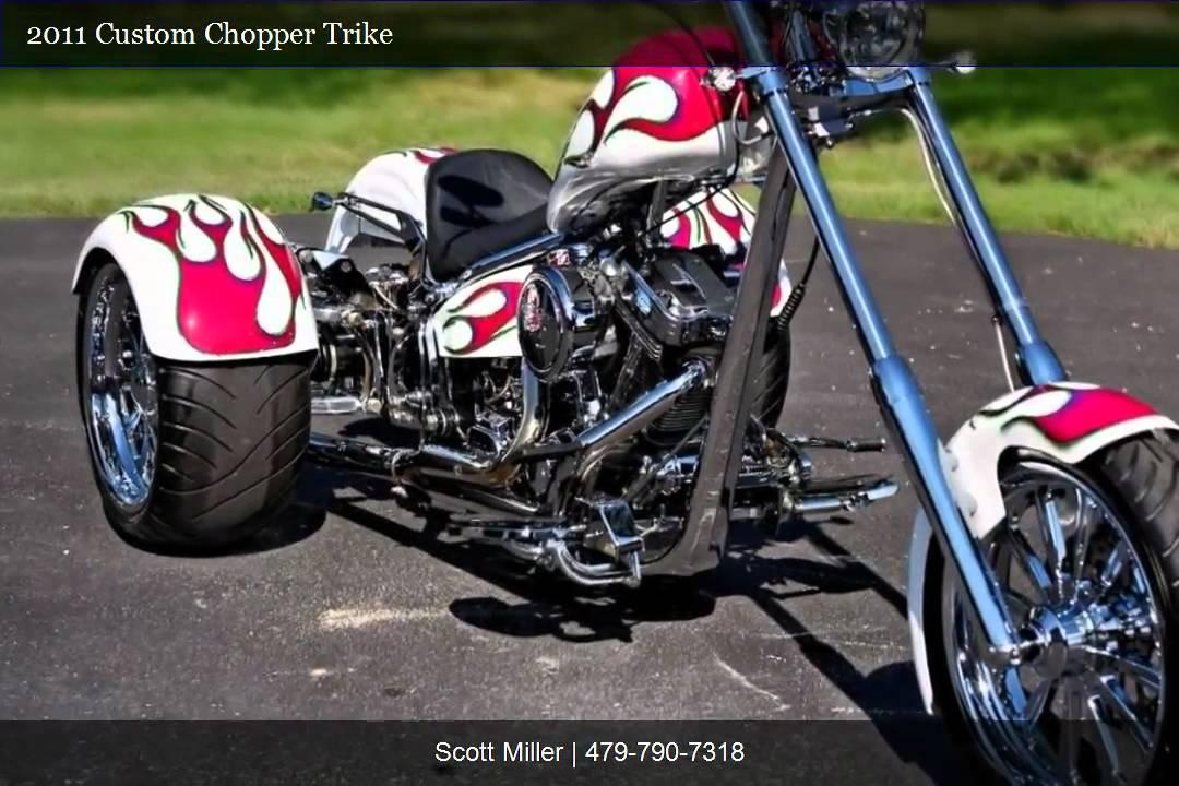 2011 Custom Chopper Trike Video Youtube