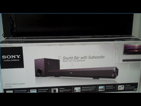 Sony HT CT60 Soundbar Subwoofer Review and How to Setup