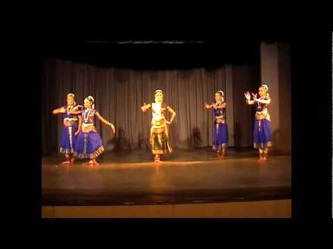 Hindu Dance - Bharatanatyam By Nrityanjali Muruga video