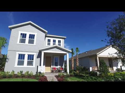 Winter Garden New Homes - Hamlin Reserve by Ashton Woods Homes- Ortega Model