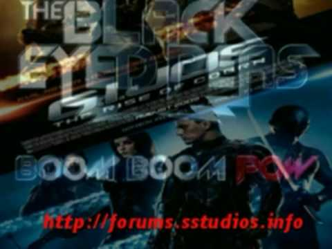 GI:JOE: Rise of the Cobra - Official Ending Song - Boom Boom Pow - Black Eyed Peas [SS]