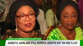 Akinlade, Adebutu still hopeful despite names missing on INEC's list