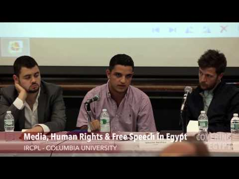 Media, Human Rights, and Free Speech in Egypt - #CoveringEgypt
