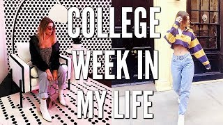 COLLEGE WEEK IN MY LIFE | MIDTERMS, COOL NYC EVENTS, & MORE