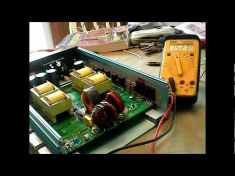 POWER JACK GRID TIE INVERTER REPAIR.THE MOSFET MISHAP.