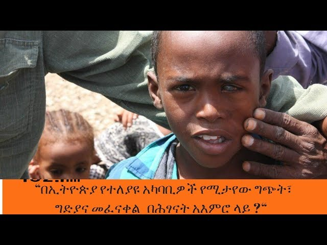 Sheger News - The Recent Ethnic Clashes And The Psycholgical Effects On Children