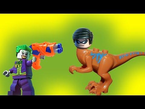 Операция превращение  Бэтмен и Робин, Ниндзяго, лего полиция  Новые лего мультики на русском языке