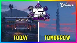 GTA 5 Online Casino DLC Update - NEW INFO! The Diamond Changes, Release Date Details & MORE! (GTA 5)