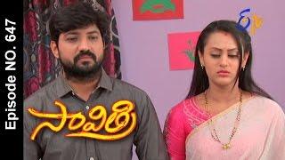 Savithri |28th April 2017 | Full Episode No 647| ETV Telugu