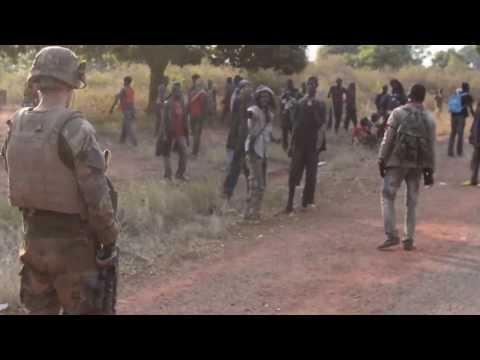 Sangaris : protection de la ville de Yaloké