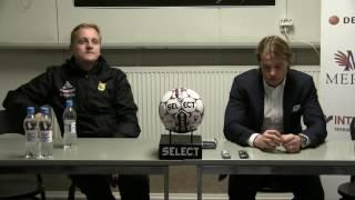 Ilves - HJK 1-3 (1-0) 17.10.2016 Lehdistötilaisuus