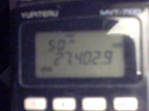 Yupiteru MVT 7100. CB And Amateur Radio Skip Heard From Irvine,Ayrshire,Scotland(27jun2011).