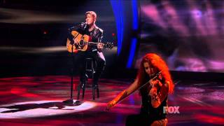 "true HD Scotty McCreery ""Where Were You (When the World Stopped Turning)"" Top 4 American Idol 2011"
