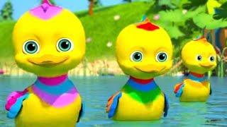 Five Litte Ducks Went Swimming - Best Kids Songs by Little Treehouse