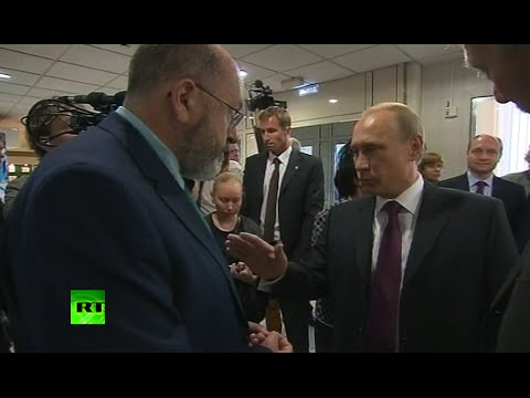 'The essence of Ukraine tragedy is..' Putin responds to BBC doorstep
