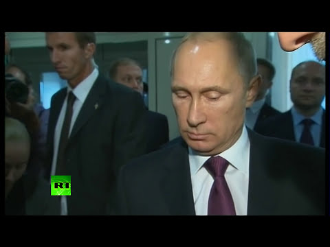 'The essence of Ukraine tragedy is..' Putin responds to BBC doorstep