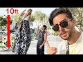 10 FOOT TALL GIRL PRANK!