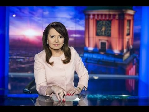 Danuta Holecka Wiadomości TVP1  (2016)