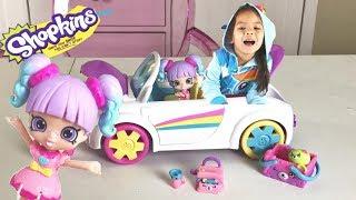Rainbow Beach Petkinz Car! Happy Places Shopkins Surprise Blind Bags