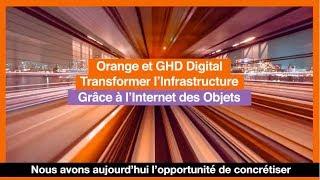 [FR] Orange Business Services et GHD Transformer l'Infrastructure Grâce à l'Internet des Objets
