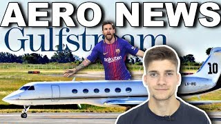 MESSI kauft PRIVATJET! Gulfstream V! AeroNews