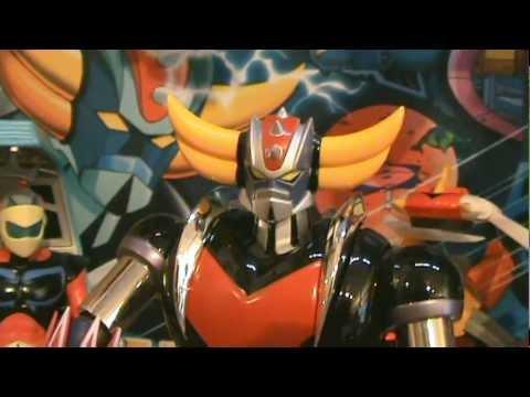 Goldorak - Grendizer Soul of Chogokin GX-04S by Bandai & Actarus Cockpit by High Dream