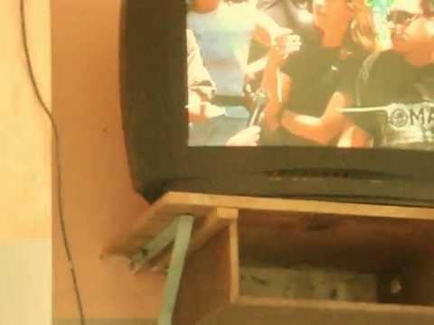 Nota de la TV, en la que participa el director Guillermo Janices
