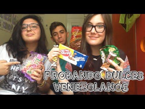 ¡Probando dulces venezolanos! | Alba Couple