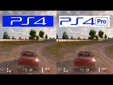 Gran Turismo Sport | PS4 Pro VS PS4 | Graphics Comparison | Comparativa