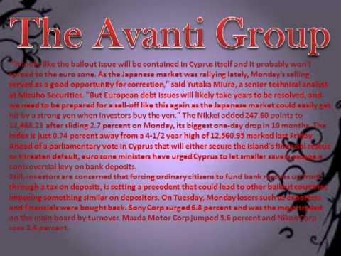 The Avanti Group Japan's Nikkei jumps 2 pct on exporters, recovers from Cyprus blow