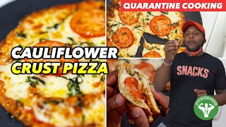 Worlds Best Margherita Cauliflower Pizza Crust Recipe