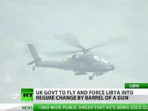 UK sends Apache attack choppers with bunker-busters to Libya