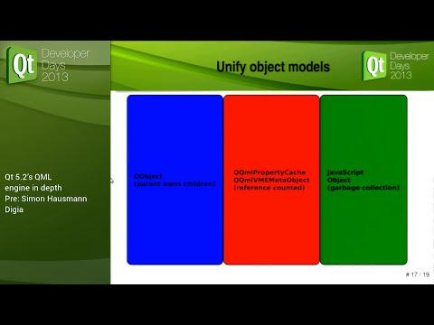 QtDD13 - Simon Hausmann - Qt 5.2's QML engine in depth