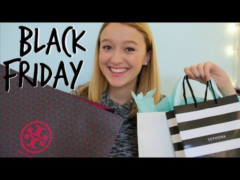 Black Friday Haul // Tory Burch, Anthropologie, Altar'd State, Sephora & More!