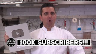 Unboxing the Silver Play Button | The Cake Boss Reaches 100K Subscriber Milestone