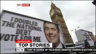 Sky News 2009/10 - 12am-3am Titles and Stings / 29 Mar, 2010
