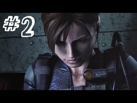 Resident Evil Revelations Gameplay Walkthrough Part 2 - Chris Redfield - Campaign Episode 2