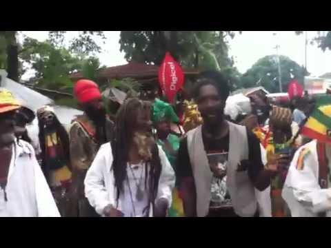 Bob Marley 68th birthday celebration at Kingston Jamaica ho
