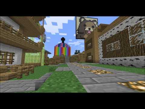 MineCraft Cracked offline server pvp/HG/creative/skygrid 1.5.2
