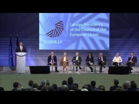 Opening of the Energy Union Conference of the EU Energy Ministers'