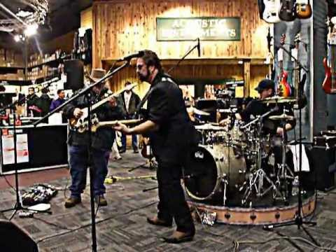 Johnny Hiland,Ron Lutrick and Stan Saxon in louisville ky. Guitar Center Jan 30th 2011