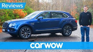 Bentley Bentayga SUV 2018 in-depth review | carwow Reviews