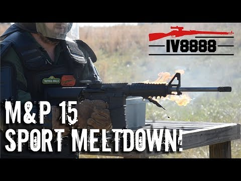 M&P15 SPORT II MELTDOWN!