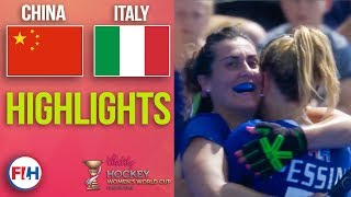 China v Italy | 2018 Women's World Cup | HIGHLIGHTS