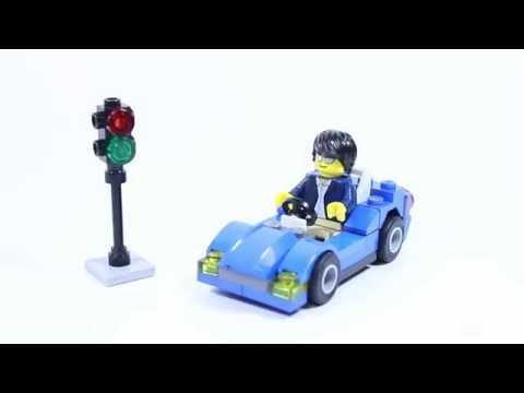 Lego City 30349 SPORTS CAR - Lego Speed Build
